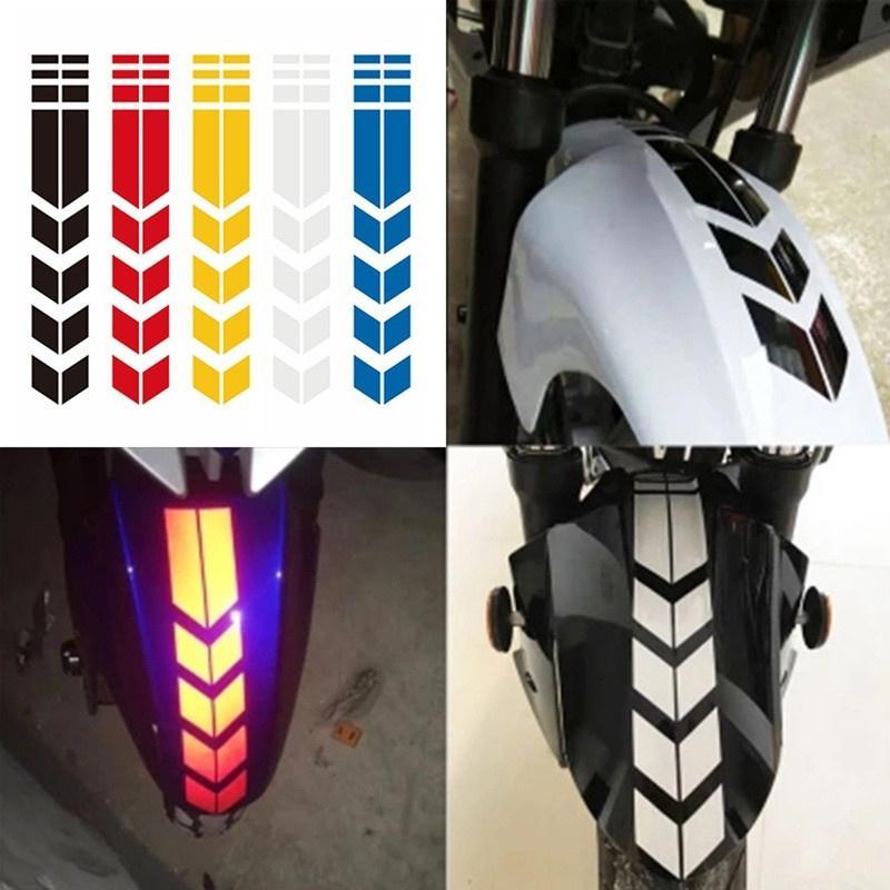 Plata Reflectante Motocicleta Moto Llanta Decal Accesorio Pegatinas para Yamaha YZF R1