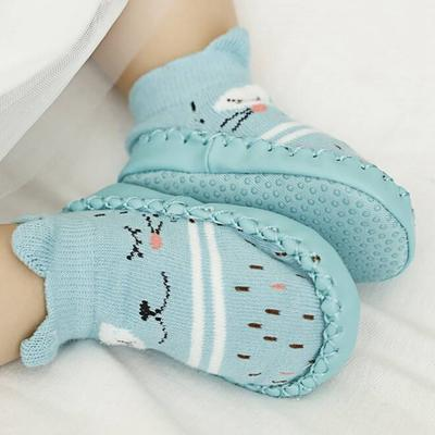 Baby Shoes Soft Bottom Toddler Cotton Shoes Cartoon Mesh Breathable Non-slip Toddler Shoes