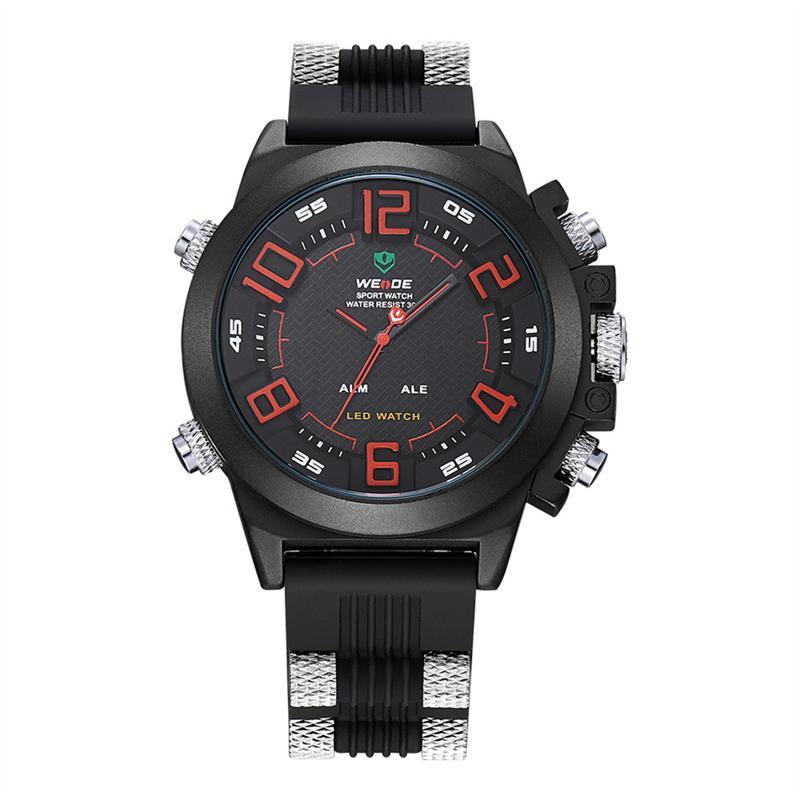 Herrenuhren Männer Uhren Sport Digitale Led Wasserdichte Uhr Luxus Männer Analog Digital Military Armee Mode Männer Elektronische Uhren Exzellente QualitäT Digitale Uhren