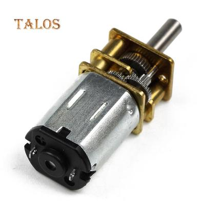 DC6V//12V N20 Gear Motor Micro Geared Box Electric Motor with Metal Gearbox Wheel