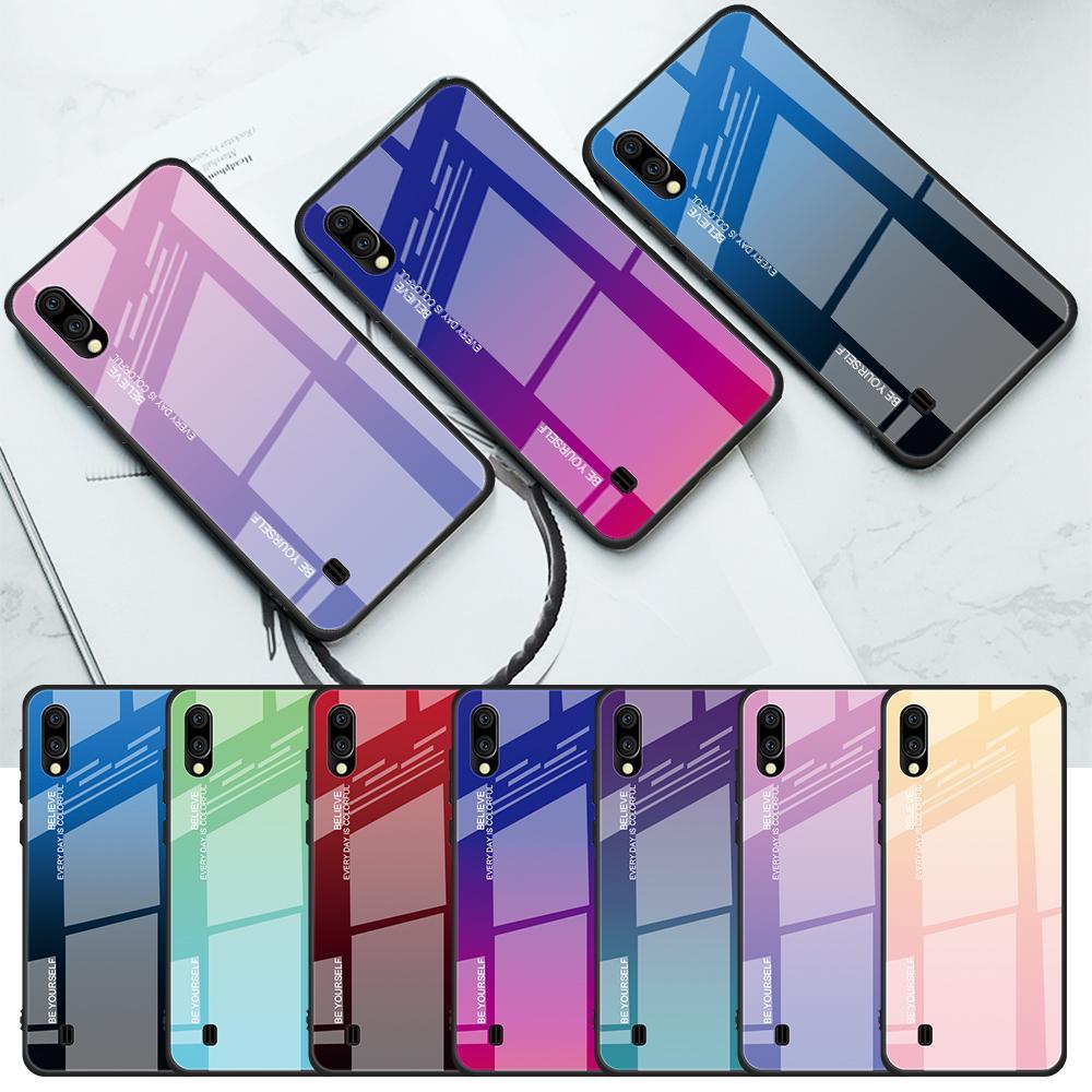 Закаленное стекло Дело для Xiaomi Redmi Примечание 7 Дело Симпатичный для Xiaomi Redmi 6A 6 Pro Mi A1 A3 A2 Lite Mi9 SE Назад Силиконовая обложка Телефон бамперы фото