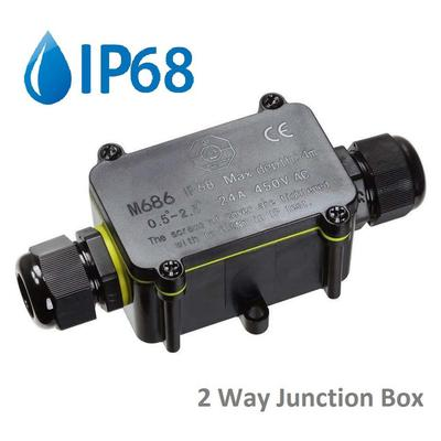 Waterproof Junction Box Electrical Cable Connector Outdoor Underground