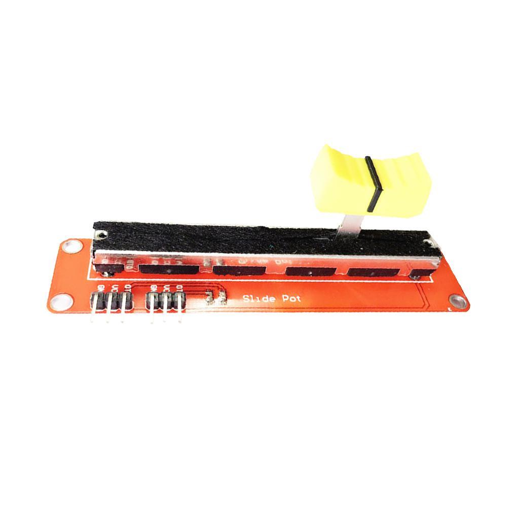 Слайд потенциометра 10K линейный модуль двойной аналоговый выход для Arduino AVR Микроконтроллеров – купить по низким ценам в интернет-магазине Joom
