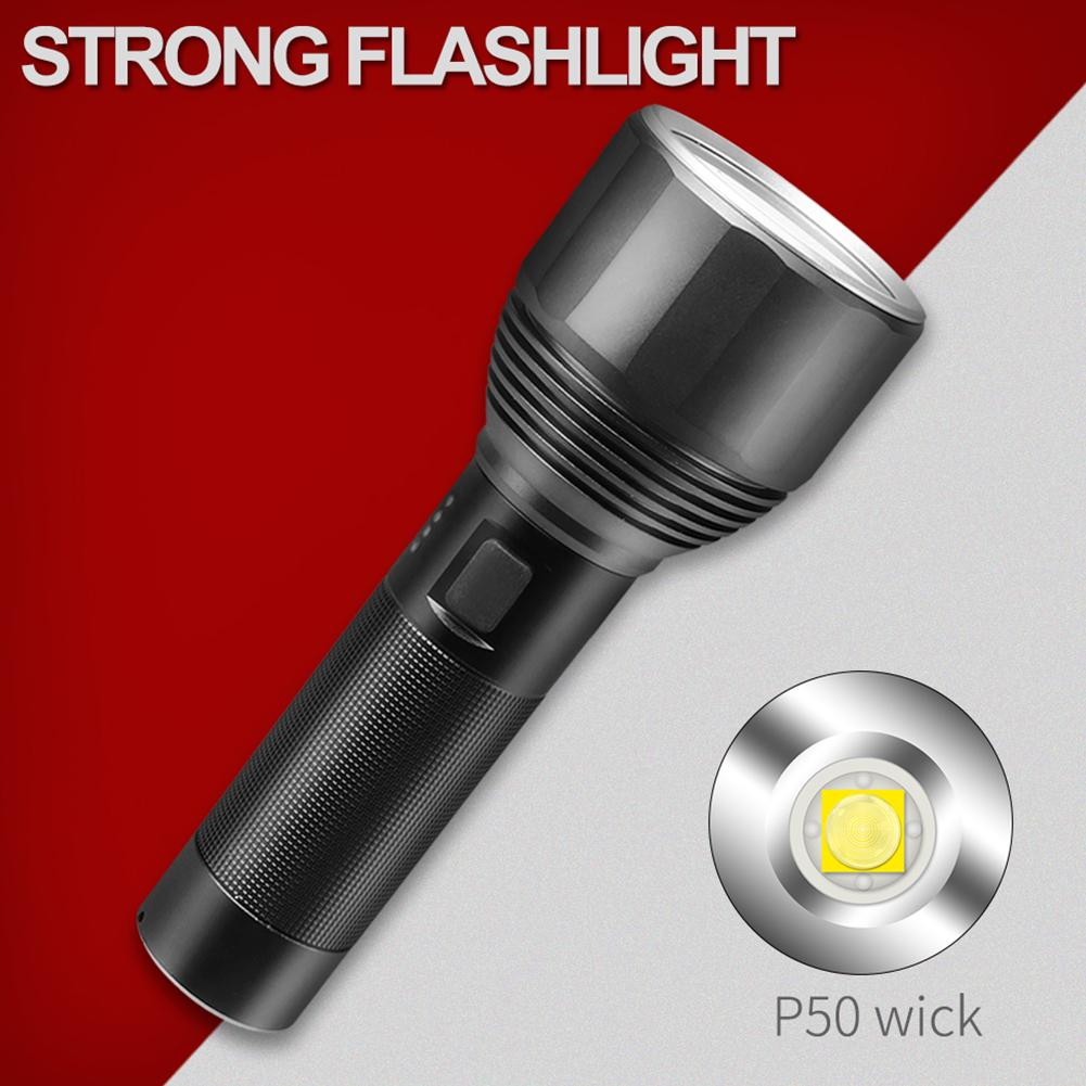 Details about  /5 Mode 60000 Lumens Flashlight LED Lighting P50 Torch Waterproof Rechargeable MA