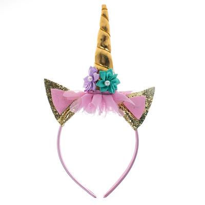 UNICORN HEADBAND FANCY DRESS HALLOWEEN CHRISTMAS COSPLAY HAIR BAND
