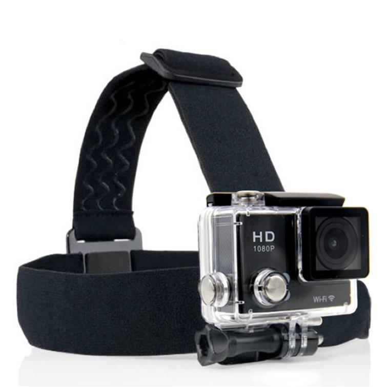 Действия камеры Gopro аксессуары оголовье профессиональ Headstrap Крепление штатива шлем для SJCAM фото