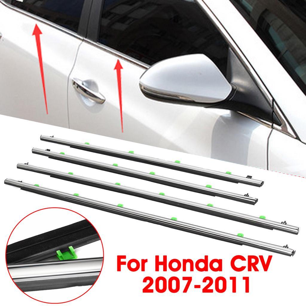 4x Car Window Moulding Trim Weatherstrips Seal Belt For Honda Cr V Crv 2007 2011 Buy At A Low Prices On Joom E Commerce Platform