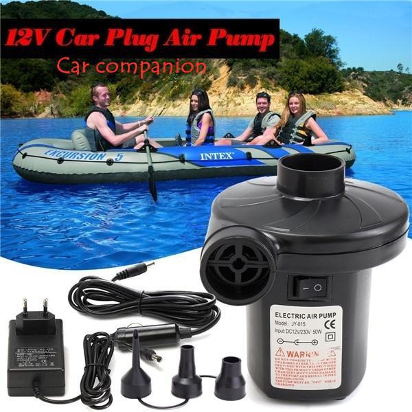 Electric Air Pump 12V 230V Boat Car Blower Pump UK US EU Plug Blower Pump