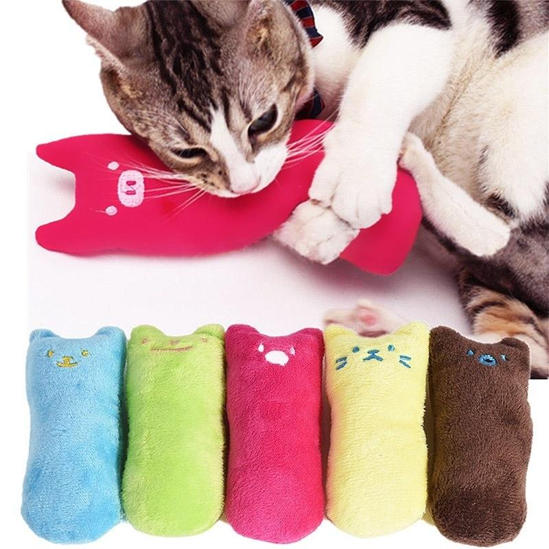 Креативные подушки скретч Crazy Cat кикер Catnip игрушка скрежетание зубами игрушки