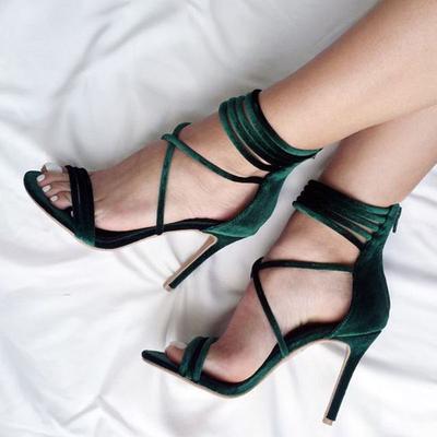 496e02739ac High-heeled Shoes Roman Sandal Zipper Japanese Open-air Sexy High-end  Women s