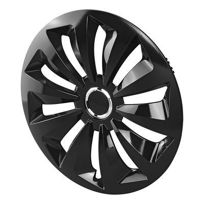 20pcs Bolzenabdeckungen Durable for Audi staubdicht Anti-Diebstahl-Nut Cap Radnaben Auto Color : Black