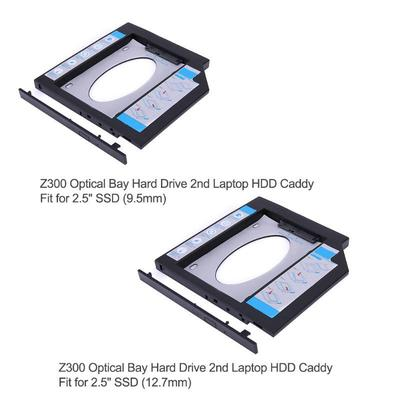 A Universal 12 7 mm SATA 2nd SSD HDD Hard Drive Caddy for
