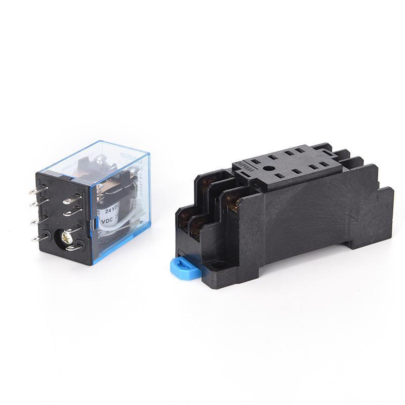 24VAC 5A Spule Leistungsrelais MY2NJ HH52P-L 8 pins 2P2T DPDT mit ...