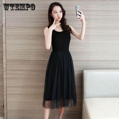 35ebf91ad0c WTEMPO бренд Slim тонкая юбка кружевное платье Женское лето длинные рукавов  платье