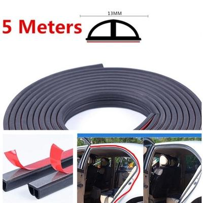 10ft Rubber Seal Edge Trim Black U Shape Soft Door Trunk Cars Parts Accessories