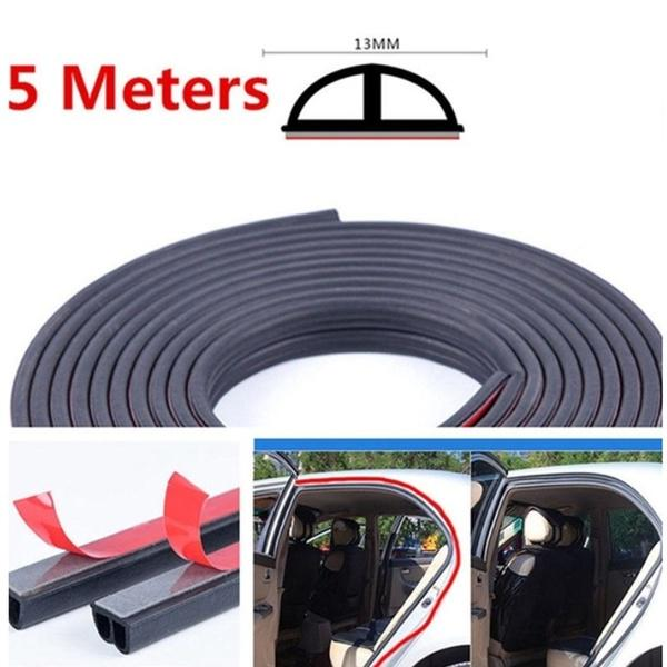 4m Big D-sealed Seal Weatherstrip Car Door Window Sticker Rubber Hollow Strip