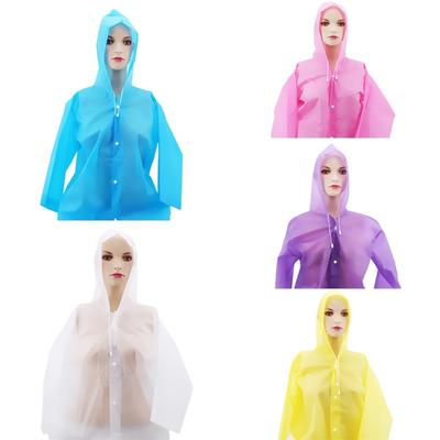 Outdoor Tourism Thickening Raincoats Non-disposable Children
