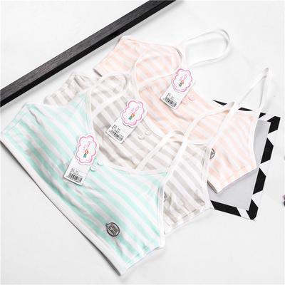 Jolies filles impression sous-vêtements soutien-gorge gilet enfants sous- vêtements Sport Undies 95a8a369b6a