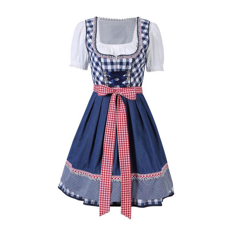 Traje de moda señoras vítores tradicional Oktoberfest alemán ... 94bd6979601