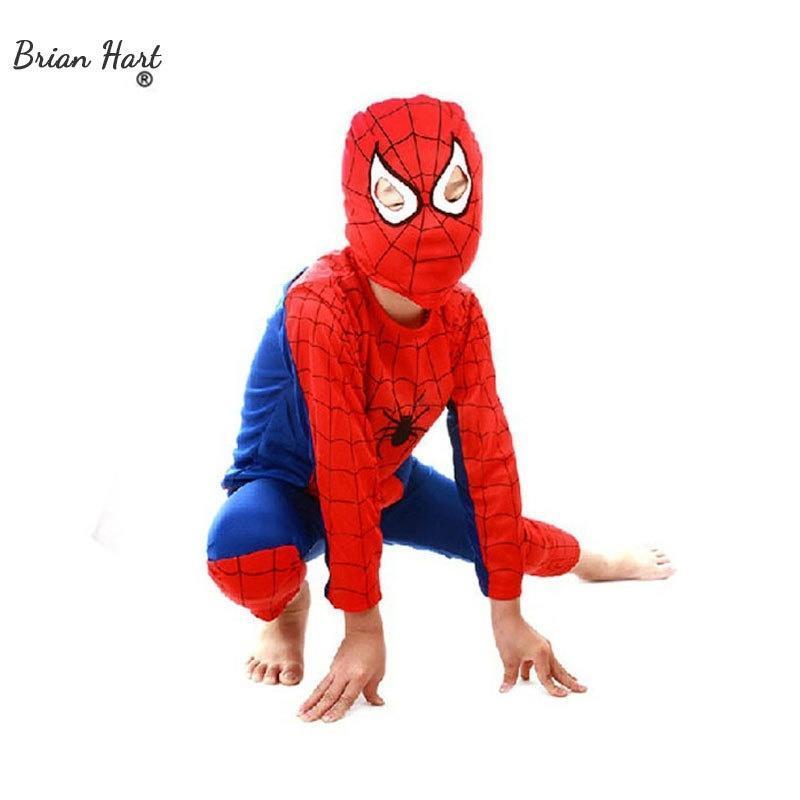 leechenn rojo negro Spiderman Set ropa Halloween traje para niños fiesta Cosplay  niños Navidad traje S M L PW0010 1225 - comprar a precios bajos en la ... 6a0566991174
