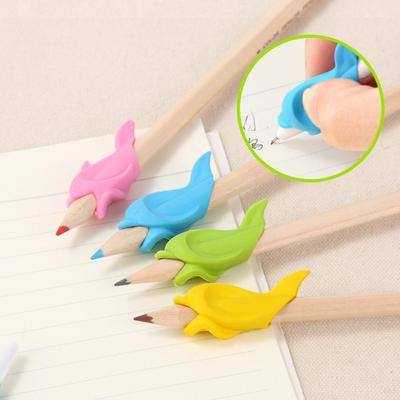 Dolphin Pen Grips Hold Writing Posture Correction Device Kid Student Stationery