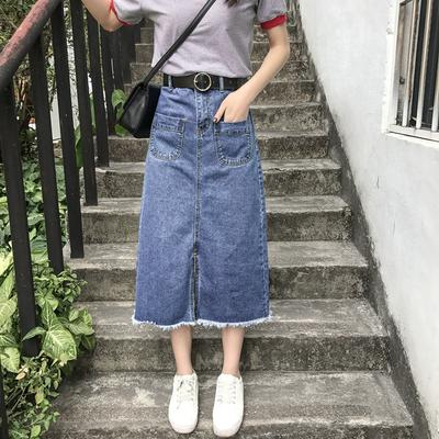 b60e358a5 LESHP mujeres de cintura alta tipo suelta faldas largas verano ...