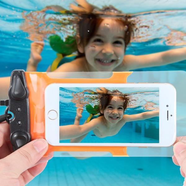 厂家直销 可触屏pvc手机防水袋旅游必备防水包相机透明防水套批发