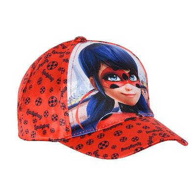 MIRACULOUS LADYBUG Girls RED Fisher Hat Size 52 /& 54 cm