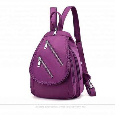 09b365037ab1 Женщины Черный нейлон Оксфорд ткань рюкзак для школьной сумки женские плечи  мешок небольшой груди мешок