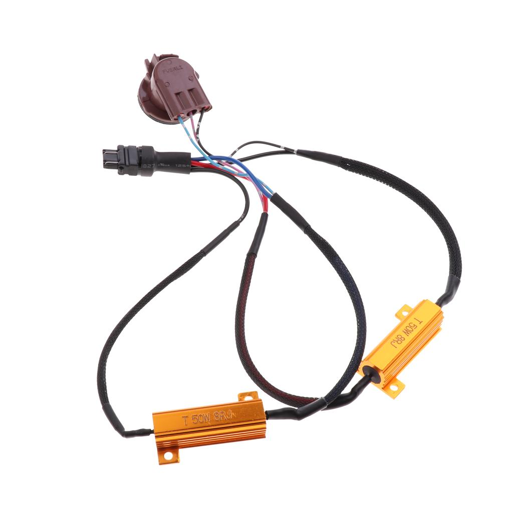 Load Resistor 4 Pieces 50W 6 Ohm Resistor for LED SMD Indicator Fault Code Fix