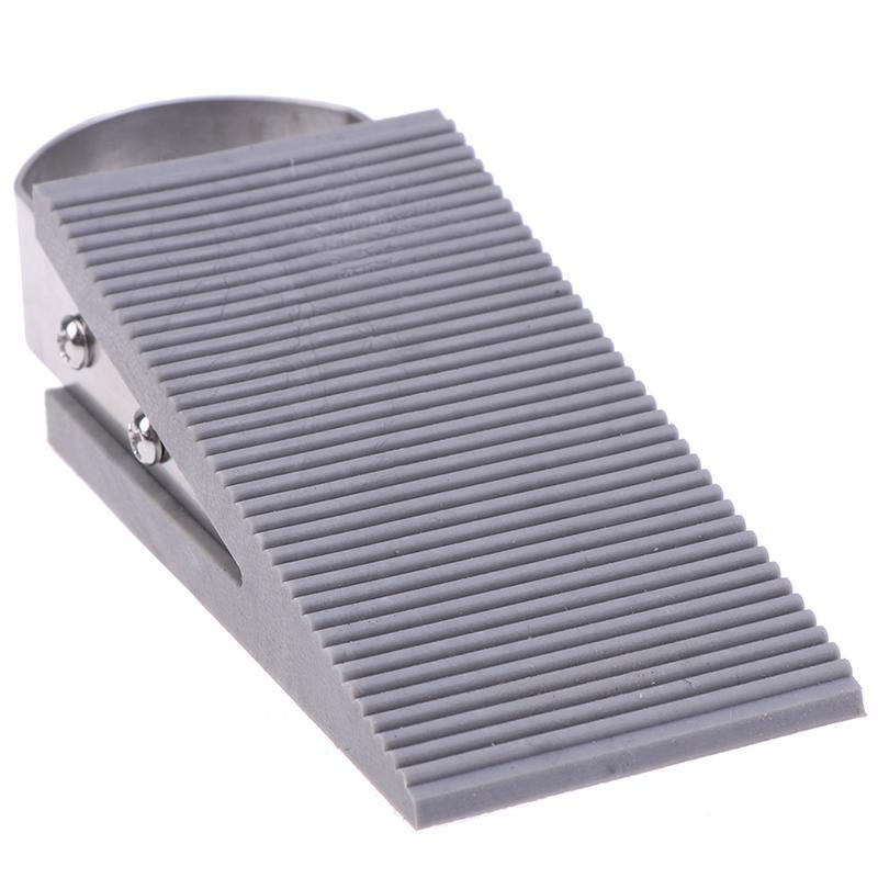 1PC Heavy Duty Extra Large Wide Floor Door Stopper Wedge Stop Tool Rubber Useful