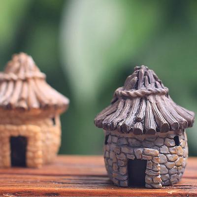 MagiDeal 5x Miniatur-Brücke Terrarium Figur Puppenhaus Fairy Garden Decor