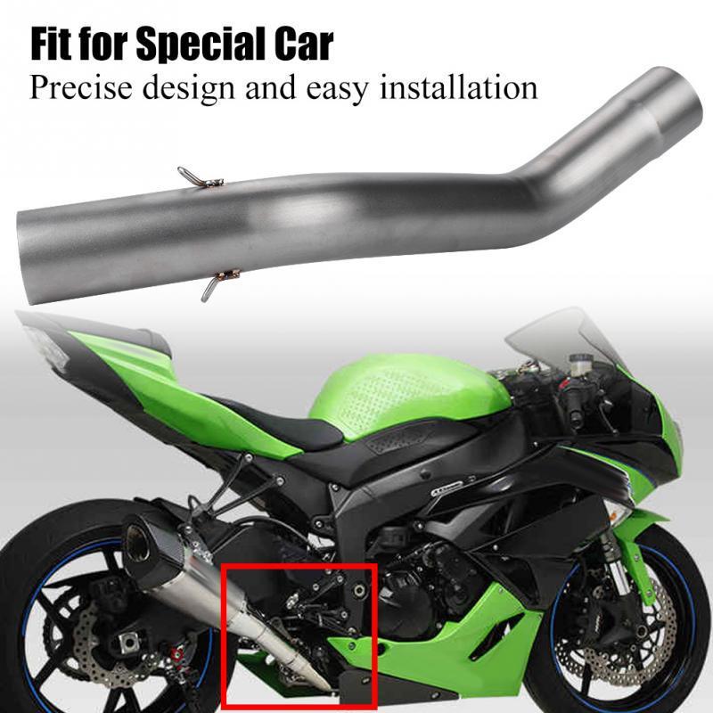 Motociclo Modifica Tubo di collegamento centrale per sfiato di scarico