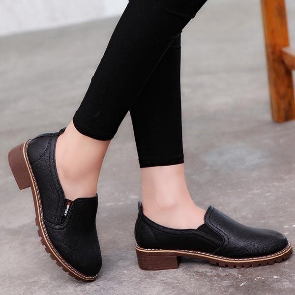 modelos de gran variedad Mejor precio atarse en Par de zapatos moda femenina mocasines