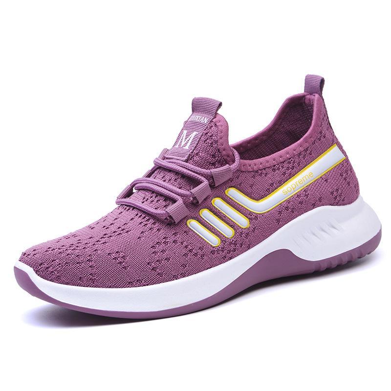 Модный дышащий Sneaker ходьба сетки досуга свет Бег плоский shoeWomen обувь – купить по низким ценам в интернет-магазине Joom