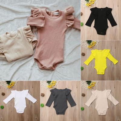 Newborn Kids Baby Boys Girls Infant Romper Jumpsuit Bodysuit Clothes Outfit Sets
