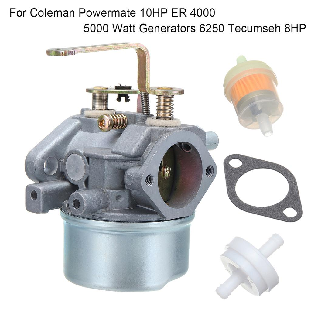 Carburetor for Coleman Powermate 8HP 10HP ER 4000 5000 Watt Generators Carb