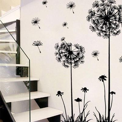 Dandelion Bear Wall Stickers  Removable Wallpaper Decor Art Decal T