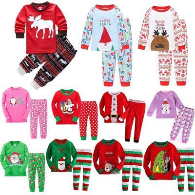 Baby Kids 2pcs Clothes Pajama Outfits Giraffe Print T-Shirts Top/&Long Pants