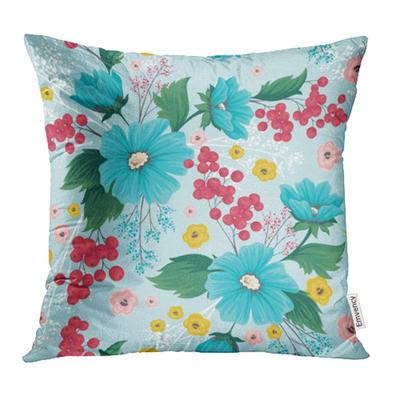 Vintage Floral Pattern And Flowers With Small Colorful On Light Ditsy Style Pillow Case Cover 16x16inch 40x40cm Buy At A Low Prices On Joom E Commerce Platform