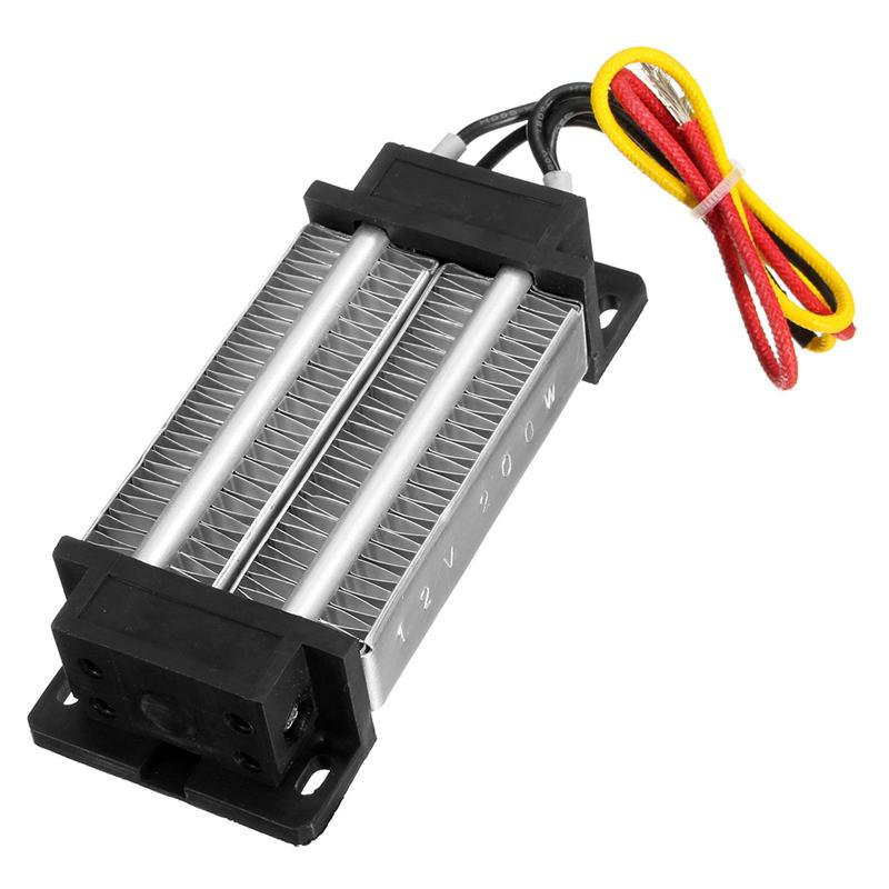 12V Electric Ceramic Heater Constant Thermostatic Insulation PTC Heating Plate