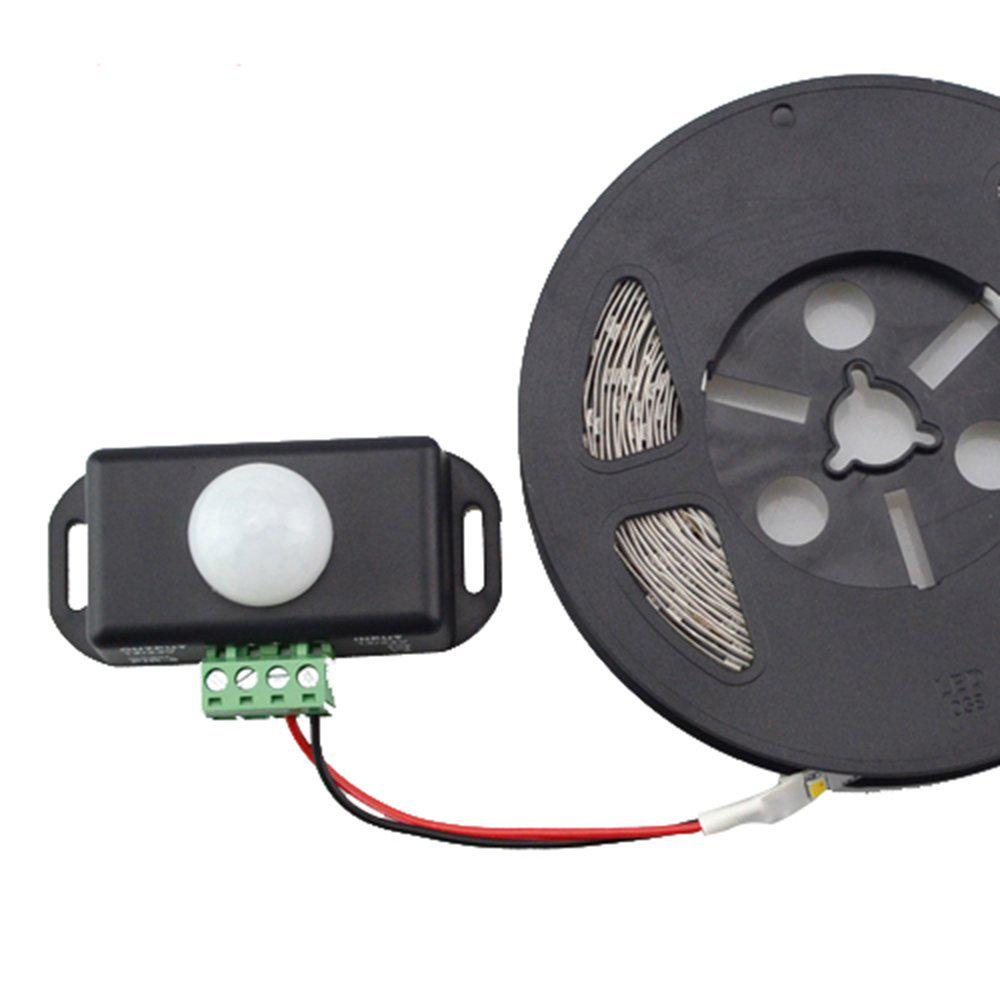 DC12-24V 30A Human Body Delay Time Infrared PIR Motion Sensor Switch for LED Str