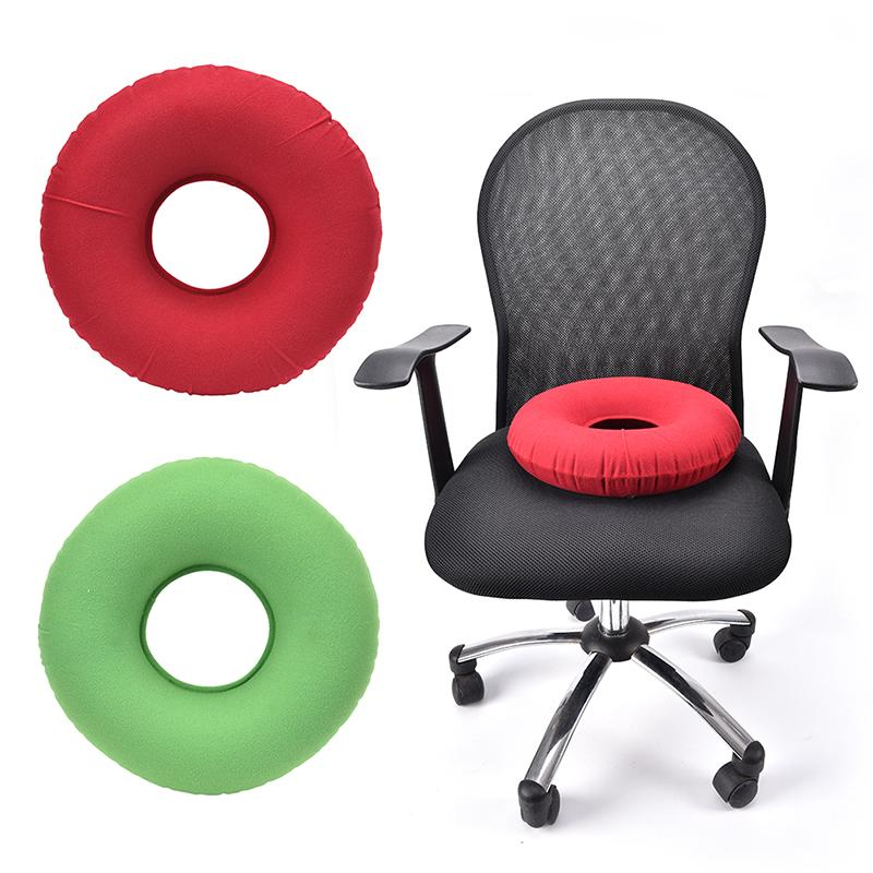 Inflatable Rubber Ring Round Seat Cushion Medical Hemorrhoid Pillow Donut +Pump - buy from 8$ on Joom e-commerce platform