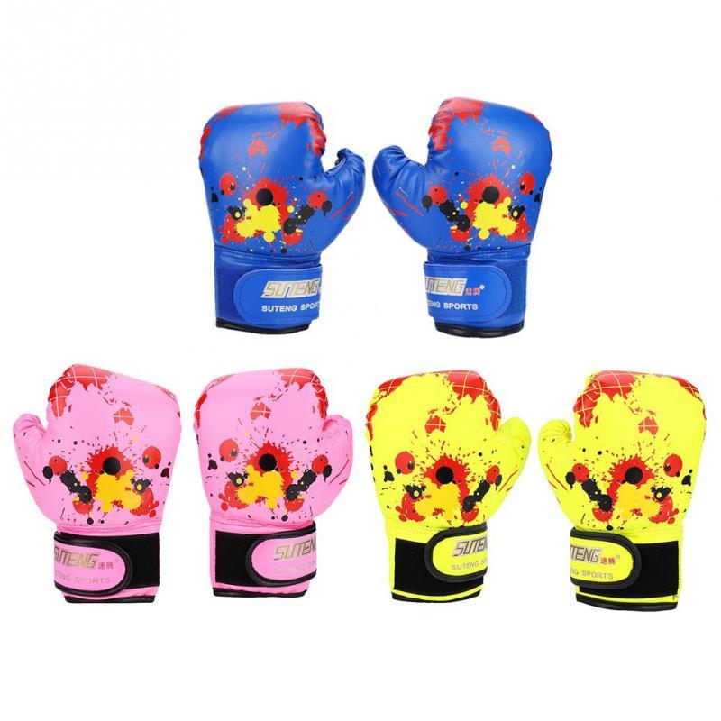 Baby Girls Boys Children Boxing Gloves Punch Training Kids Fight Mitts❤G