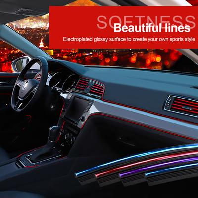 New Car Interior Gap Decor Line Mouldings Trim Strips Auto Accessories Styling.