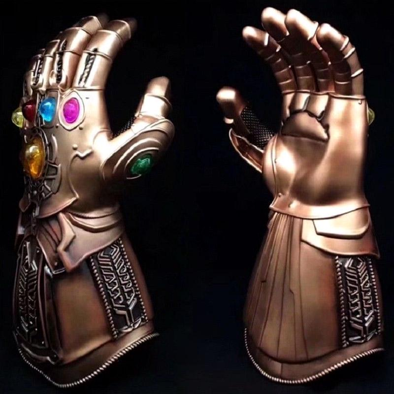 Vingadores Thanos Infinity Gauntlet Luva De Bronze Grande Para Cosplay Fantasia adulto