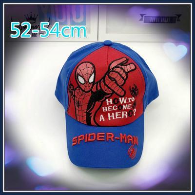 Boys Spider man Hip Hop Cap Children Marvel Spiderman Cap Hat Size 54 /& 56 Cm