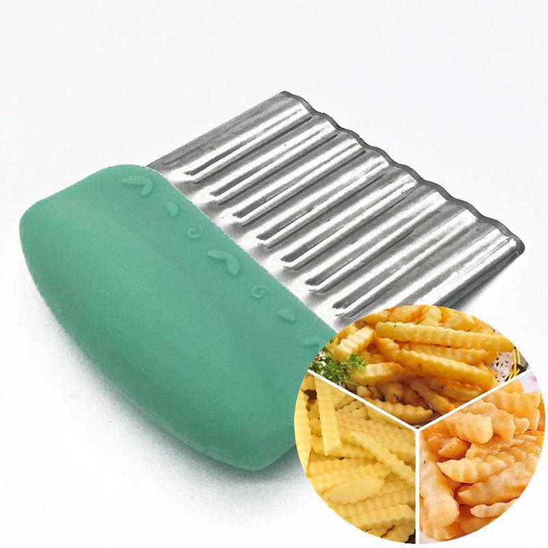 塑料手柄波纹刀薯条刀