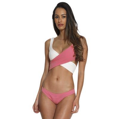 Сексуальная женщин купальники бикини цвет блока пуш-ап мягкий, пляжная  одежда для купания 283c34767ef