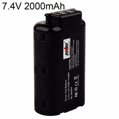 2x Battery for Panasonic Lumix DC-S1 Lumix DC-S1R 3400mAh
